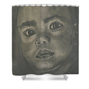 Charboy Shower Curtain