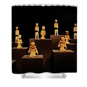 Chariot Warriors Shower Curtain