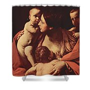 Charity 1607 Shower Curtain