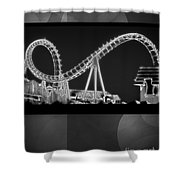 Charity Coaster Shower Curtain