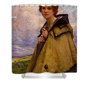 Charles Amablelenoir Labergere Large Shower Curtain