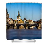 Charles Bridge Shower Curtain