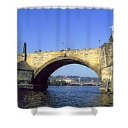 Charles Bridge, Prague Shower Curtain