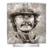 Charles Bronson, Actor Shower Curtain
