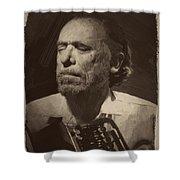 Charles Bukowski 1 Shower Curtain
