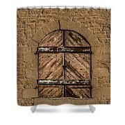 Charles Goodnight Barn Doors Shower Curtain