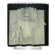 Charles Hall - Creative Arts Program -spirits Of The Plains Shower Curtain