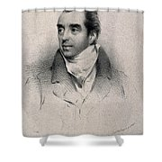 Charles Hatchett, English Chemist Shower Curtain