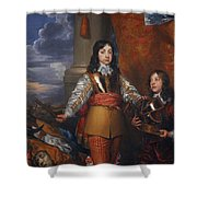 Charles II - King Of Scots And King Of England Shower Curtain