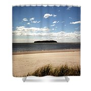 Charles Island Shower Curtain