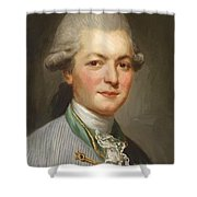 Charles Joseph De Pallu Shower Curtain