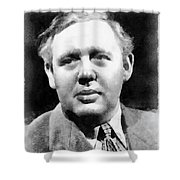 Charles Laughton Vintage Actor Shower Curtain