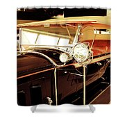 Charles Lindberg's 1927 Packard Shower Curtain