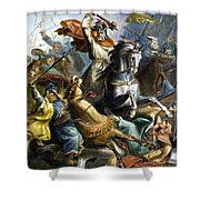 Charles Martel (c688-741) Shower Curtain