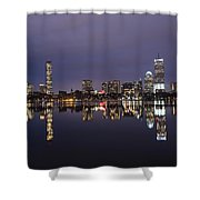 Charles River Clear Water Reflection Shower Curtain
