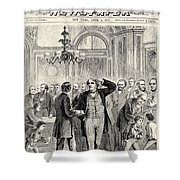 Charles Sumner (1811-1874) Shower Curtain by Granger