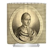 Charles X Also Called  Until 1824 Shower Curtain