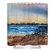 Charleston At Sunset Shower Curtain