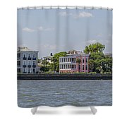 Charleston By The Sea Shower Curtain