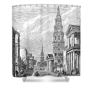 Charleston: Church, 1861 Shower Curtain