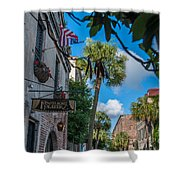 Charleston Footlight Players Shower Curtain