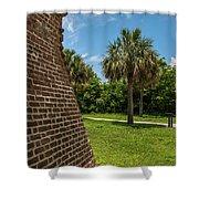 Charleston Fortification Shower Curtain