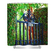 Charleston Gate 1 Shower Curtain