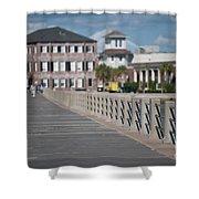 Charleston High Battery Side Walk Shower Curtain