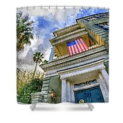 Charleston Patriot - Watercolor Shower Curtain