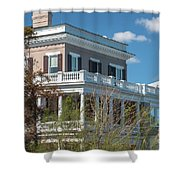 17 East Battery Shower Curtain