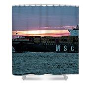 Charleston Port Shower Curtain