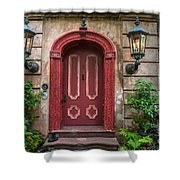 Charleston Sc Grand Entrance Shower Curtain