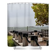 Charleston Storming Shower Curtain