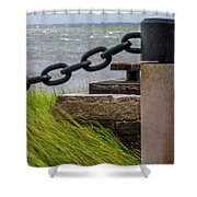 Charleston Tropical Storm Hermine Shower Curtain