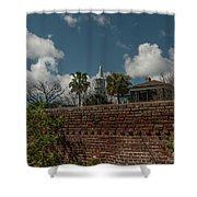 Charleston Walled Garden Shower Curtain