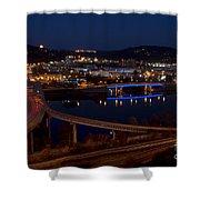 Charleston - West Virginia Shower Curtain