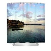 Charlestown Sunset East Shower Curtain