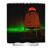 Charlevoix Aurora Shower Curtain