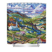 Charlevoix Inspiration Shower Curtain