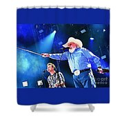 Charlie Daniels On Stage Shower Curtain