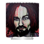 Charlie Manson Shower Curtain