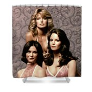 Charlie's Angels Shower Curtain