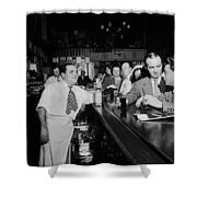 Charlie's Tavern N Y C 1947 Shower Curtain