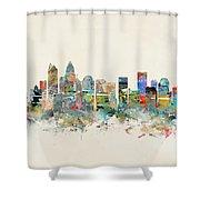 Charlotte City Shower Curtain