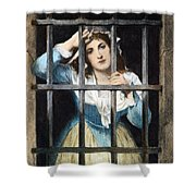 Charlotte Corday Shower Curtain