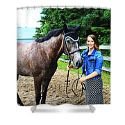 Charlotte-phil-15 Shower Curtain