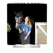 Charlotte-phil-3 Shower Curtain