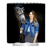 Charlotte-phil-4 Shower Curtain