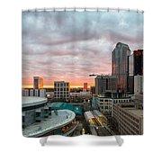 Charlotte Sunset Shower Curtain