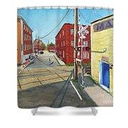 Charlottesville Street Shower Curtain